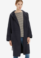 Parka deep sea blue